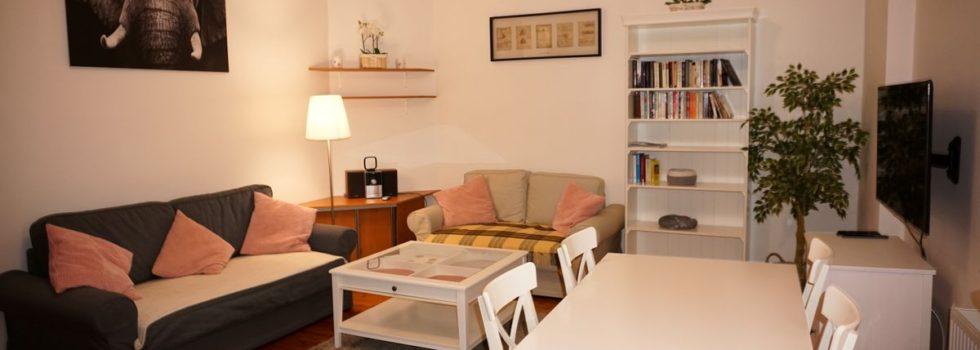 Apartament Sopot Centrum Monciak Pokój dzienny