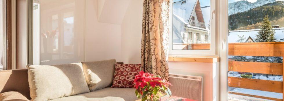 Apartament Zakopane Słoneczny z balkonem
